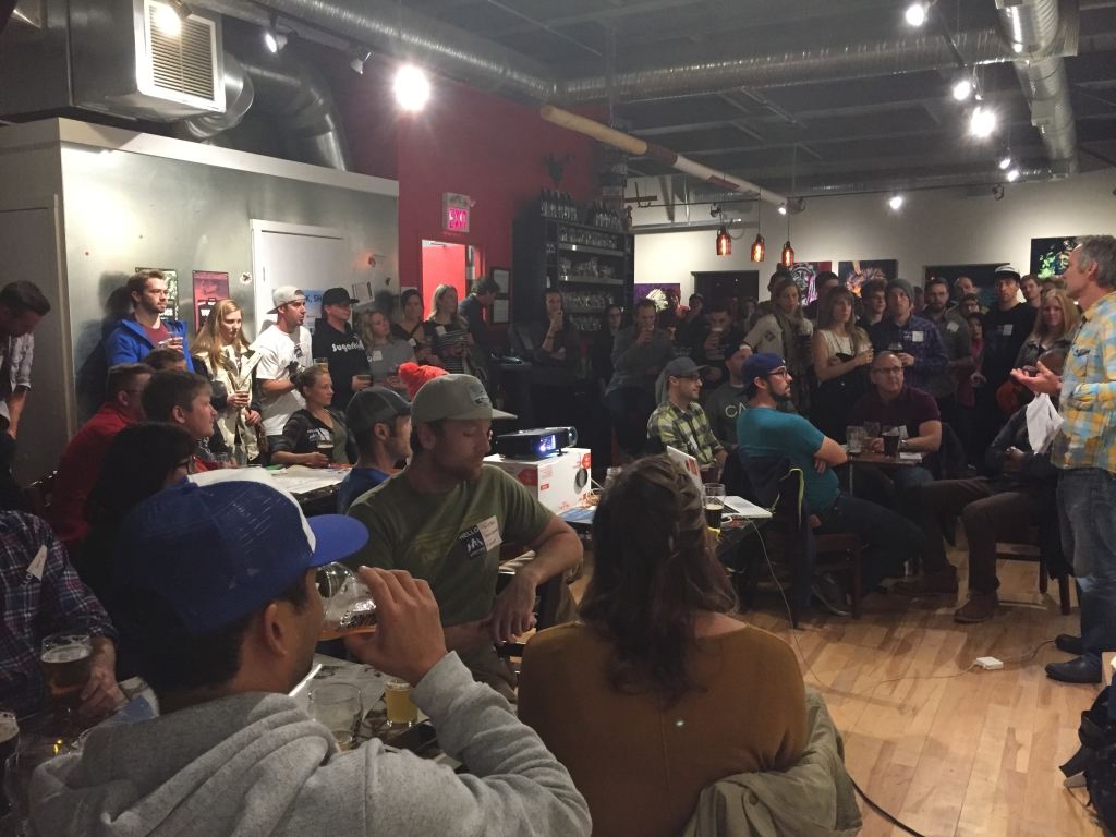 October Mappy Hour on October 29th at Village Brewery