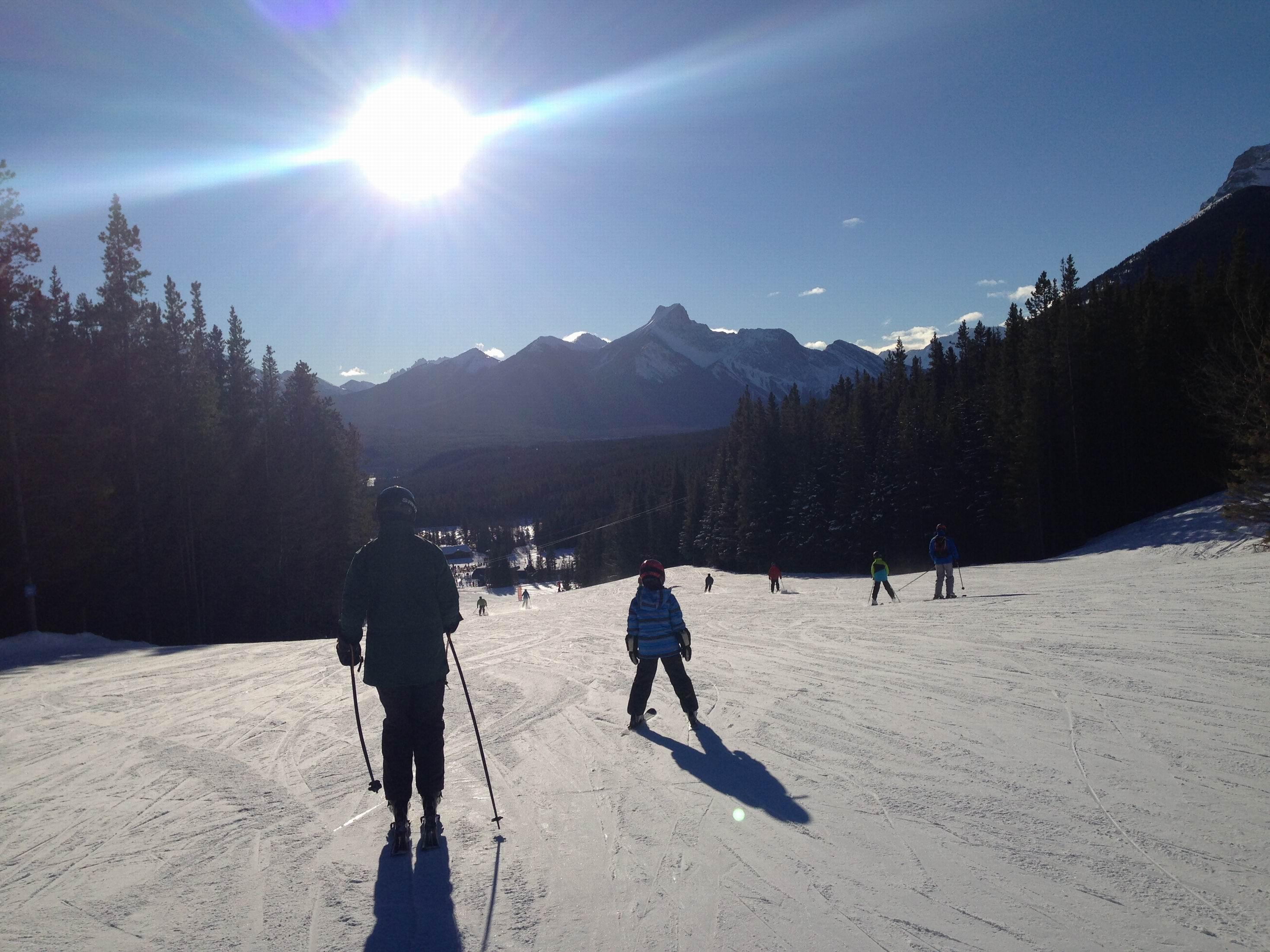 ten tips for awesome spring skiing - nakiska ski area